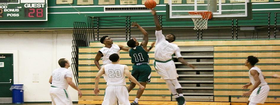 Men Basketball Action Photo