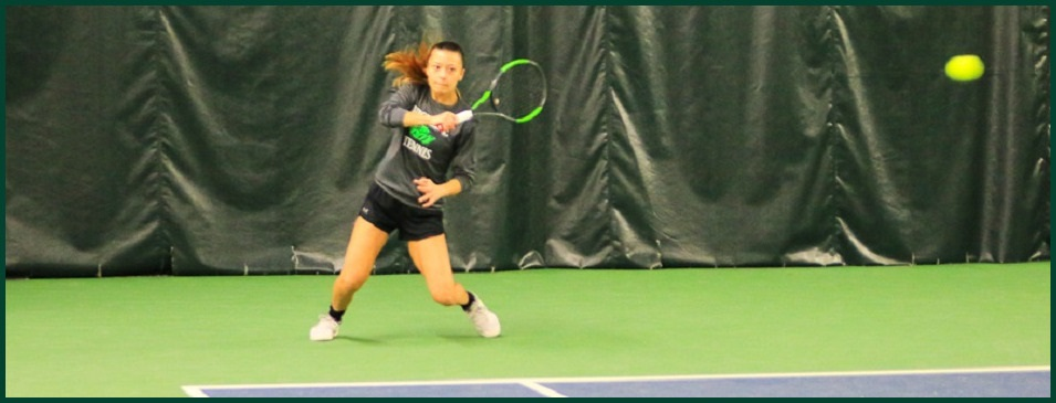Women's Tennis Action Photo