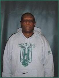 Med Basketball Asst. Coach Clarence Ryan