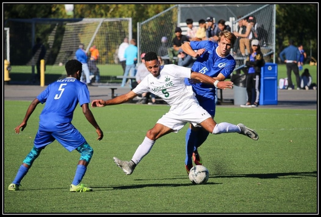 Men's Soccer Action Photo