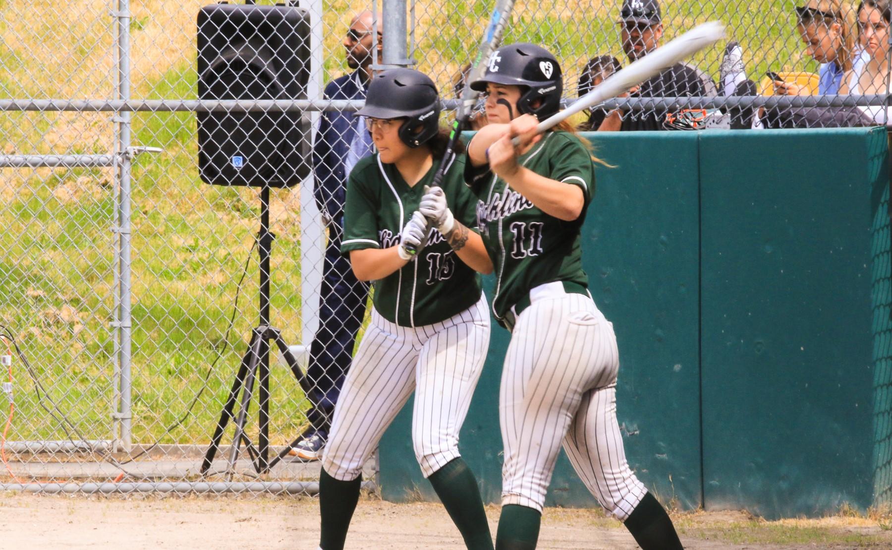 Women's Softball Action Photo