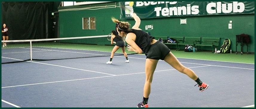 Women's Tennis Action photo