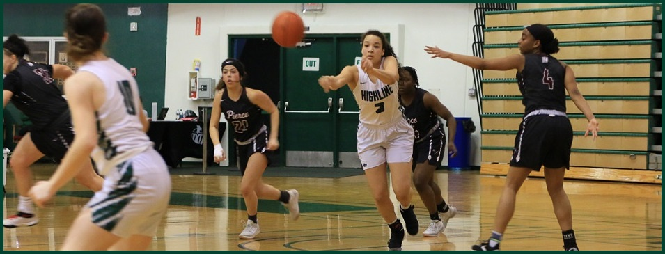 Women's Basketball Action Photo
