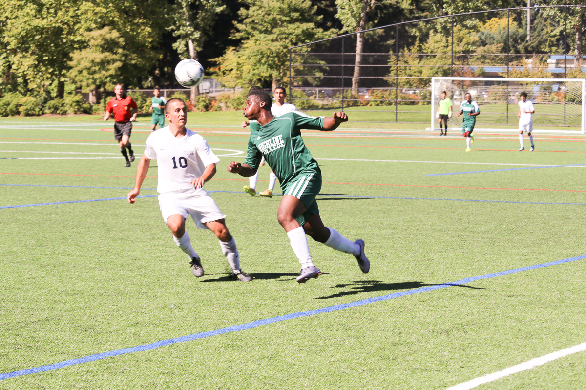 Men Soccer action photo