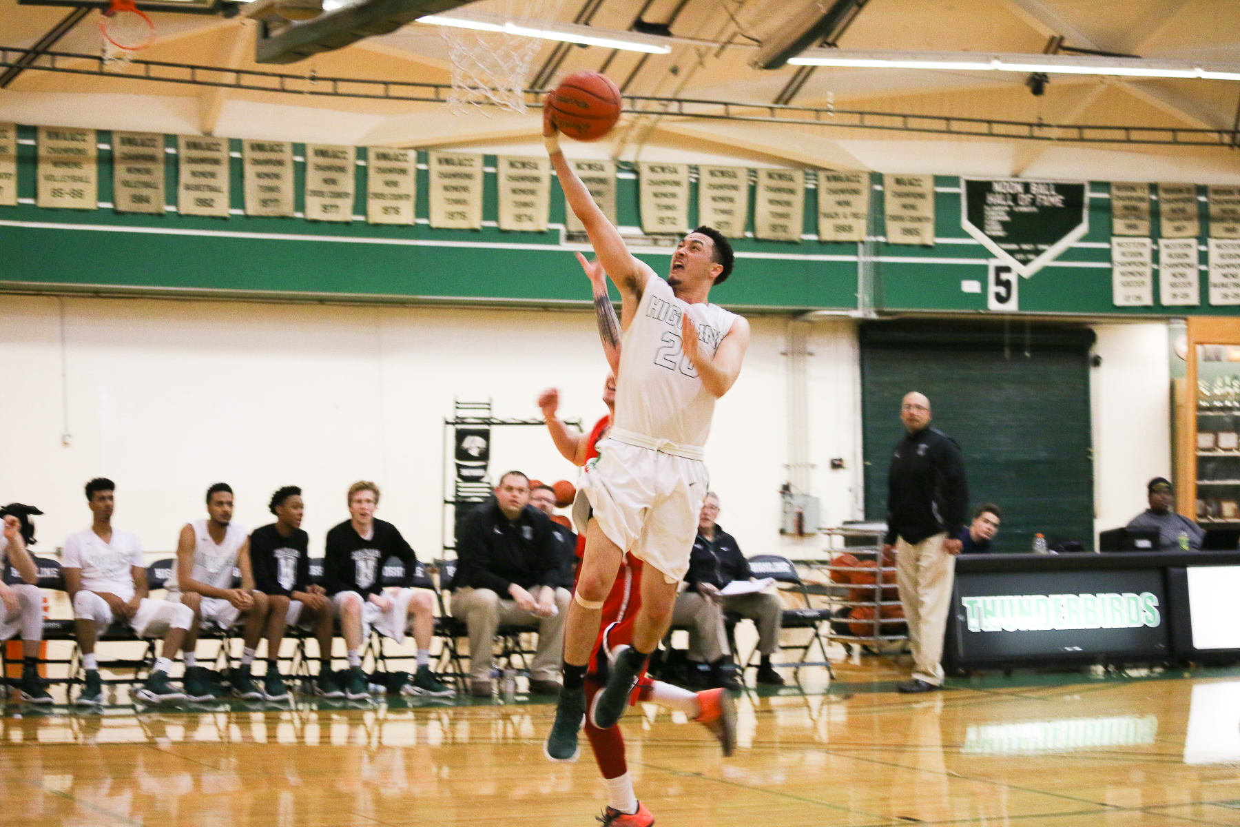 Men's Basketball  Action Photo (Student-Athlete page)