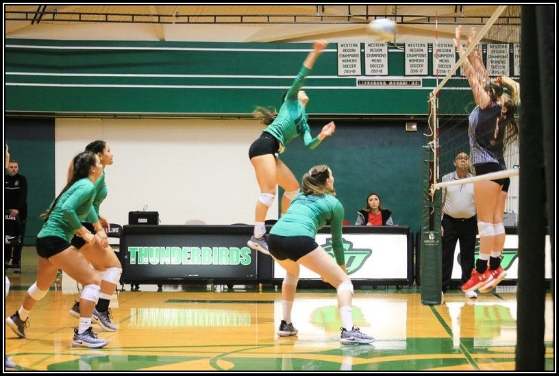 Women's Volleyball Action Photo (Athletics home page)