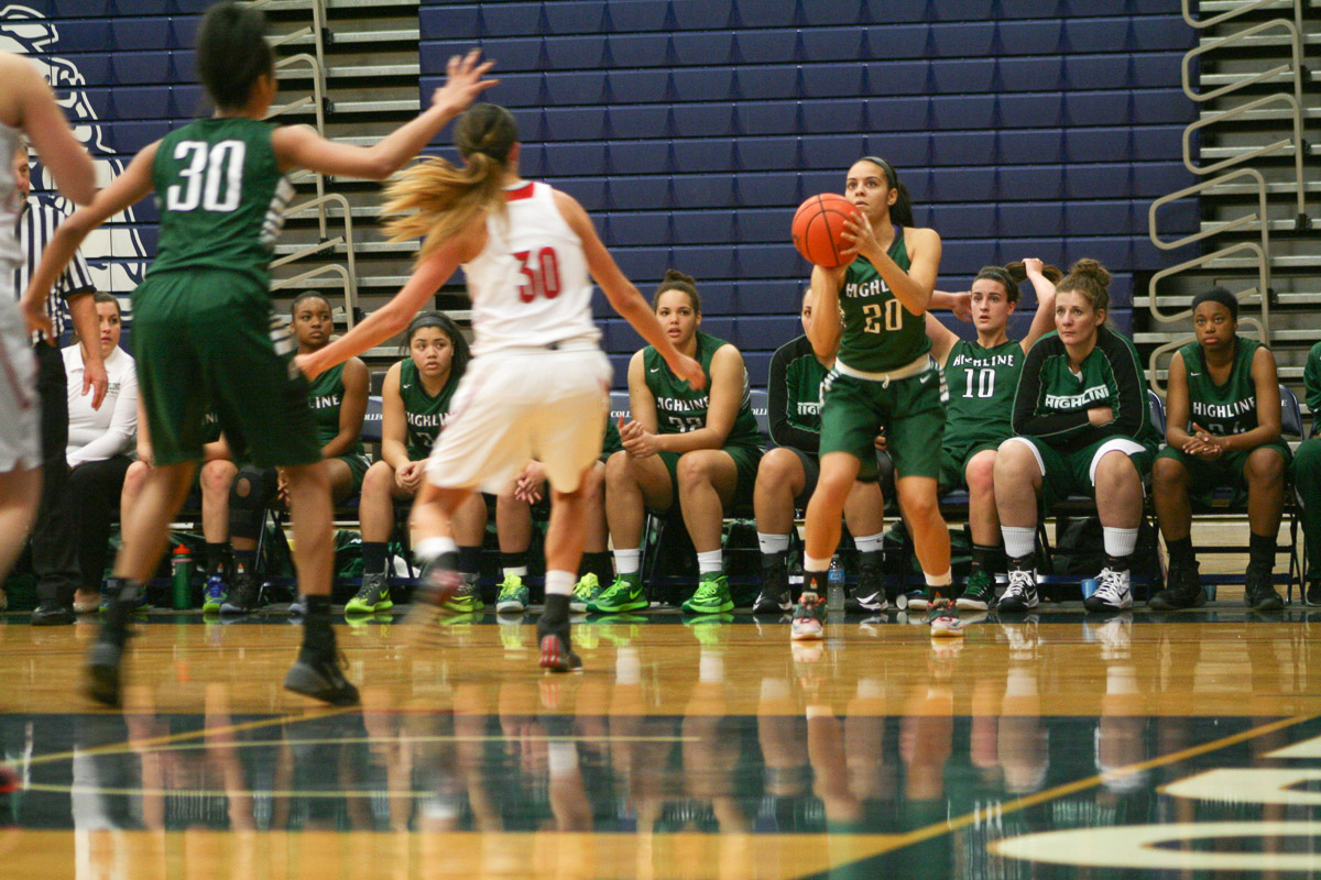 Women's Basketball Acttion Photo (Student-Athlete page)
