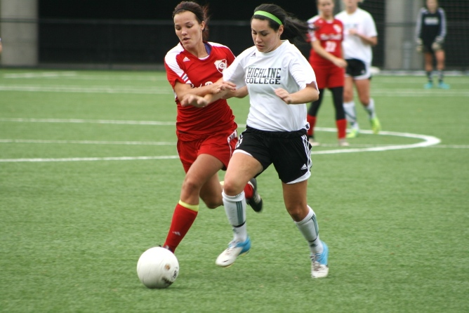 Women's Soccer Action Photo (Student-Athletes page)