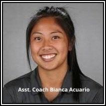 Women Soccer Asst. Coach Bianca Acuario