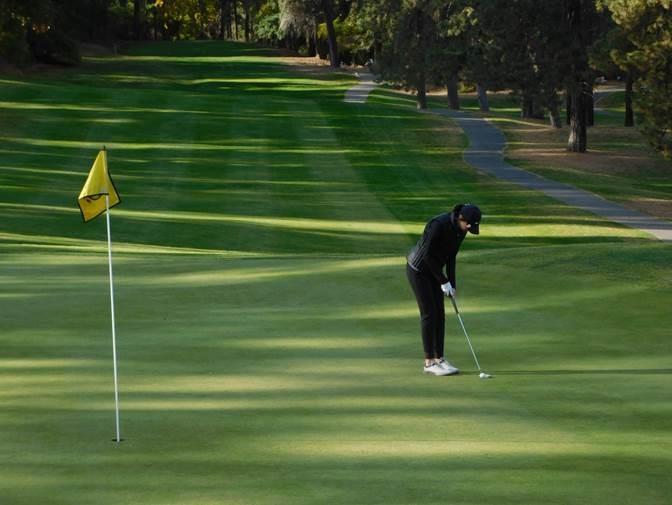 Faylisa Valle Highline Golf
