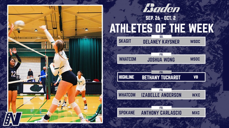 Bethany Tuchardt - NWAC Volleyball Player of the Week
